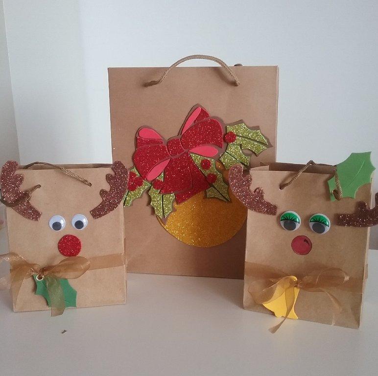 512859ce6 Bolsas de regalo de papel Kraft - Arte y Manualidades en Canarias